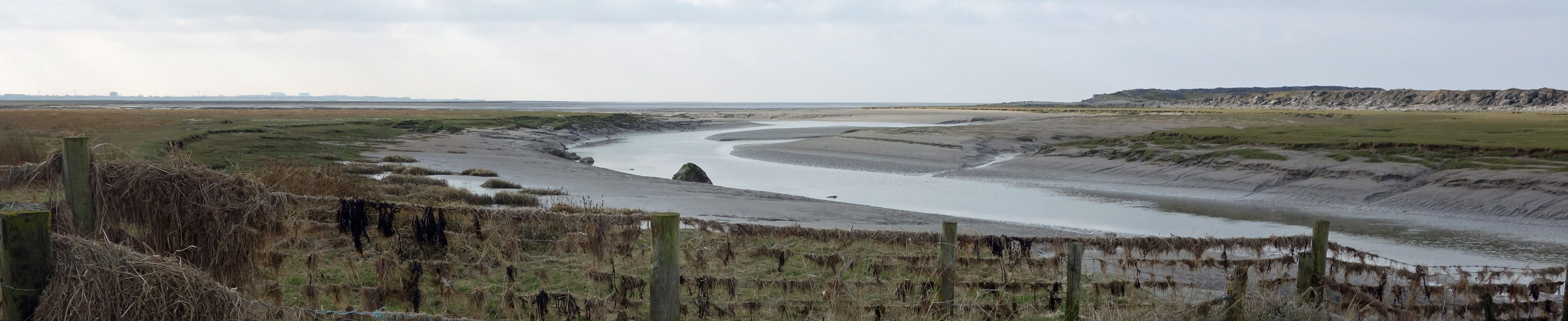 The River Keer estuary