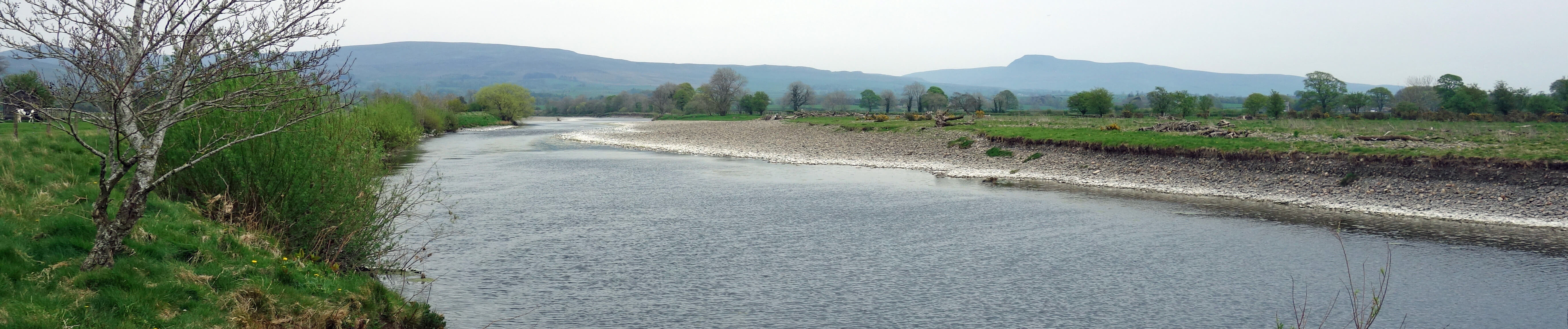 Ingleborough from Lune