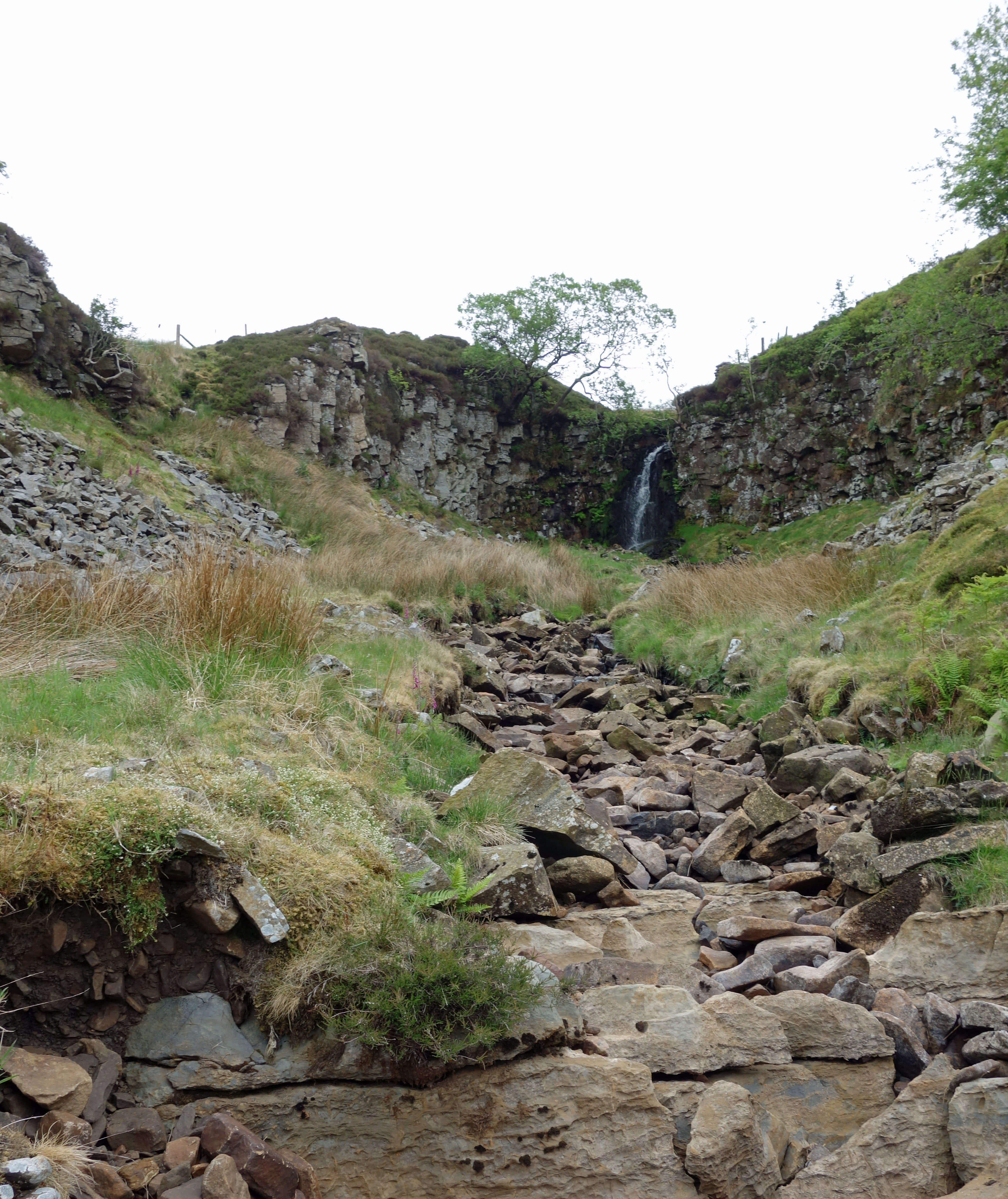 Short Gill waterfall